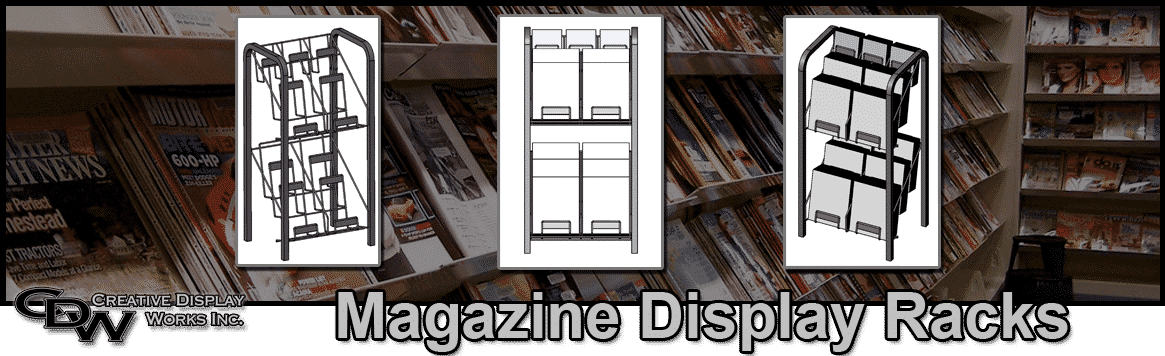 Magazine Display Rack Supplier & Manufacturer