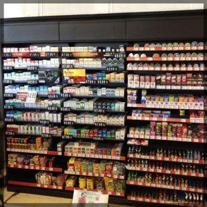Big Cigarette Rack For Convenience Stores