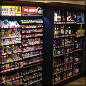 Convenience Store Cigarette Rack For Sale