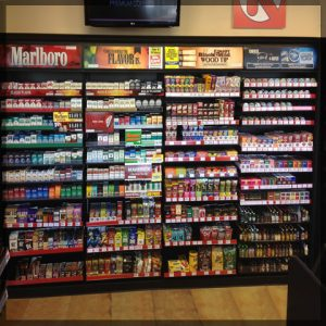 Large Cigarette Rack For Convenience Stores