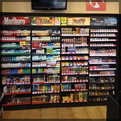 Large Cigarette Rack For Convenience Stores
