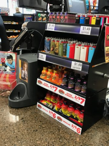 Countertop POP sales display fixture