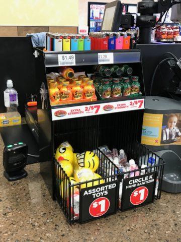 Countertop impulse sales display