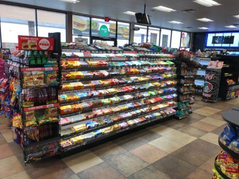 Candy rack display