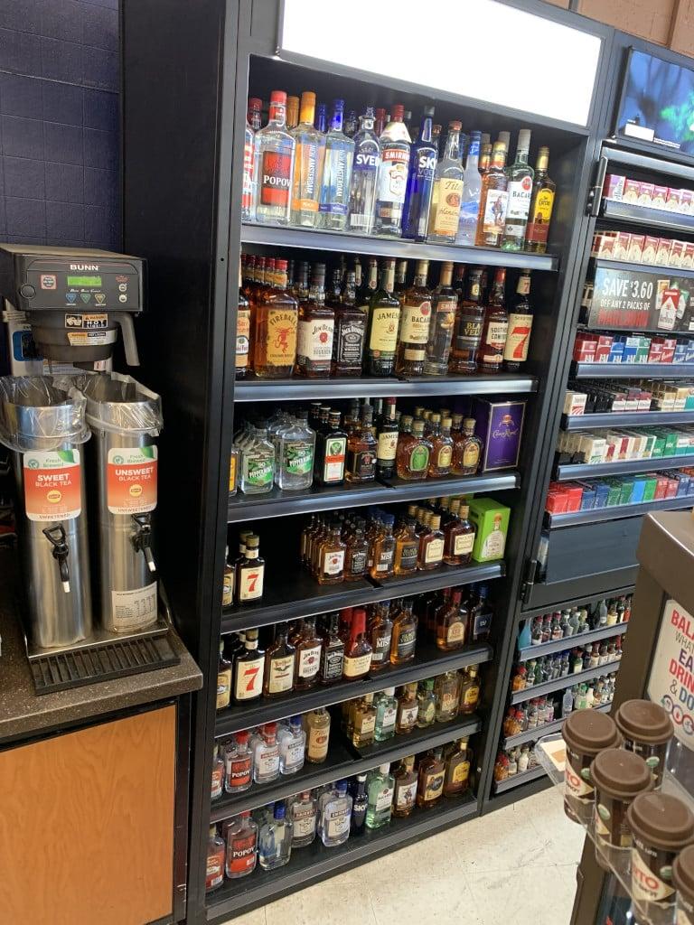 3' liquor display cabinet scaled